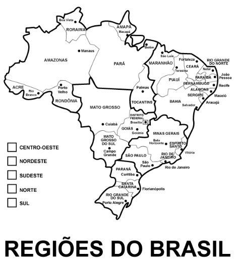 pedagógiccos regiões brasileiras atividades atividades