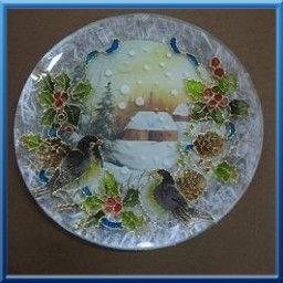 Pittura su vetro con deco glass liquido decoupage for Disegni su vetro