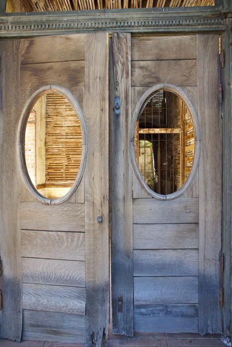 Like The Idea Of Having A Window In The Saloon Door It