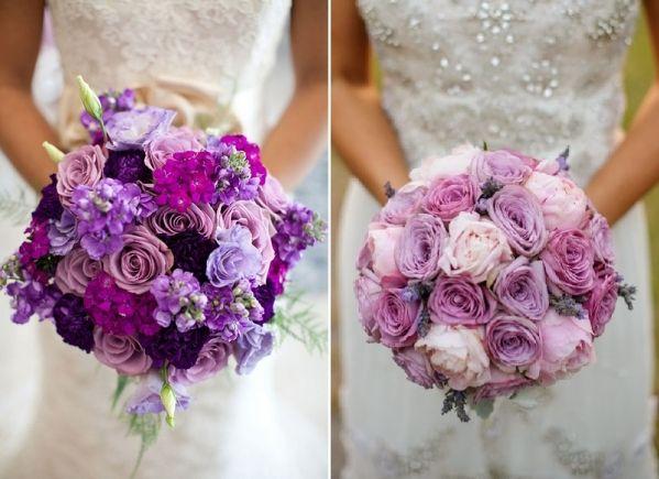Fioletowe Bukiety Slubne Floral Wreath Flower Arrangements Wedding Inspiration