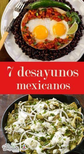 7 desayunos mexicanos que no te puedes perder
