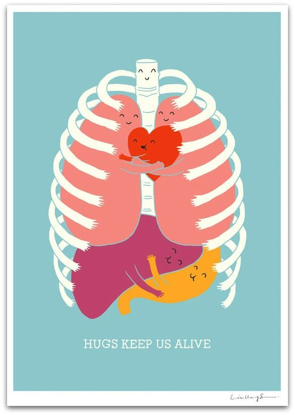 Even Organs Love Hugs Lol This Fits Great With My Career In