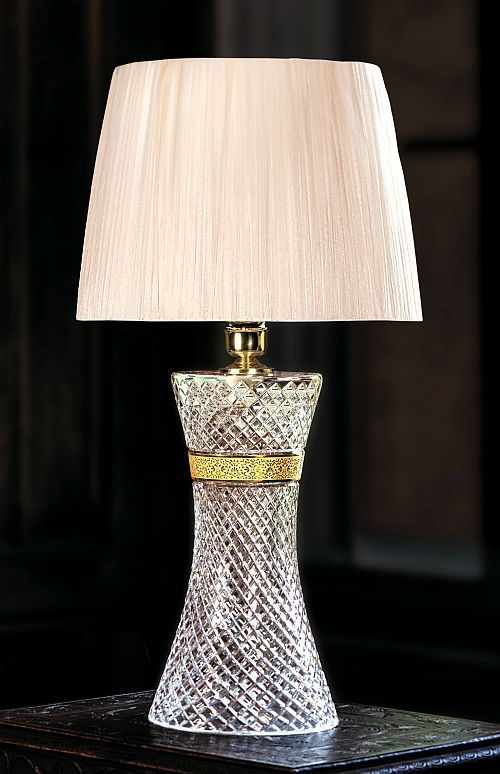 High end table lamp by aysan organza lamp shade diamond cut high end table lamp by aysan organza lamp shade diamond cut crystal stand aloadofball Choice Image