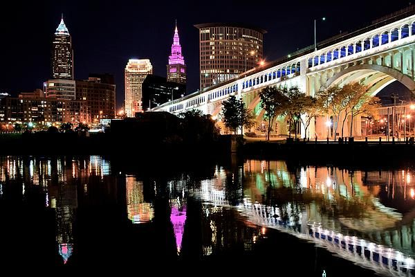 Cleveland Ohio Reflects by Frozen In Time Fine Art Photography #Cleveland #Ohio