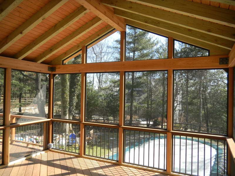 How To Build A Screened In Porch On An Existing Deck Yahoo Image
