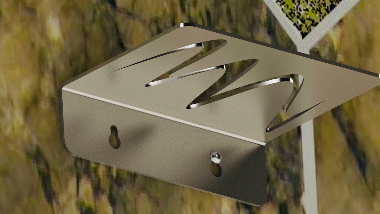 bain porte savon spline design