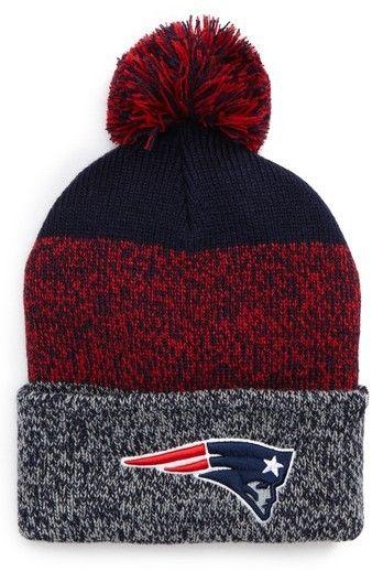 7334f78f '47 Women's New England Patriots Static Cuff Knit Beanie - Blue. '