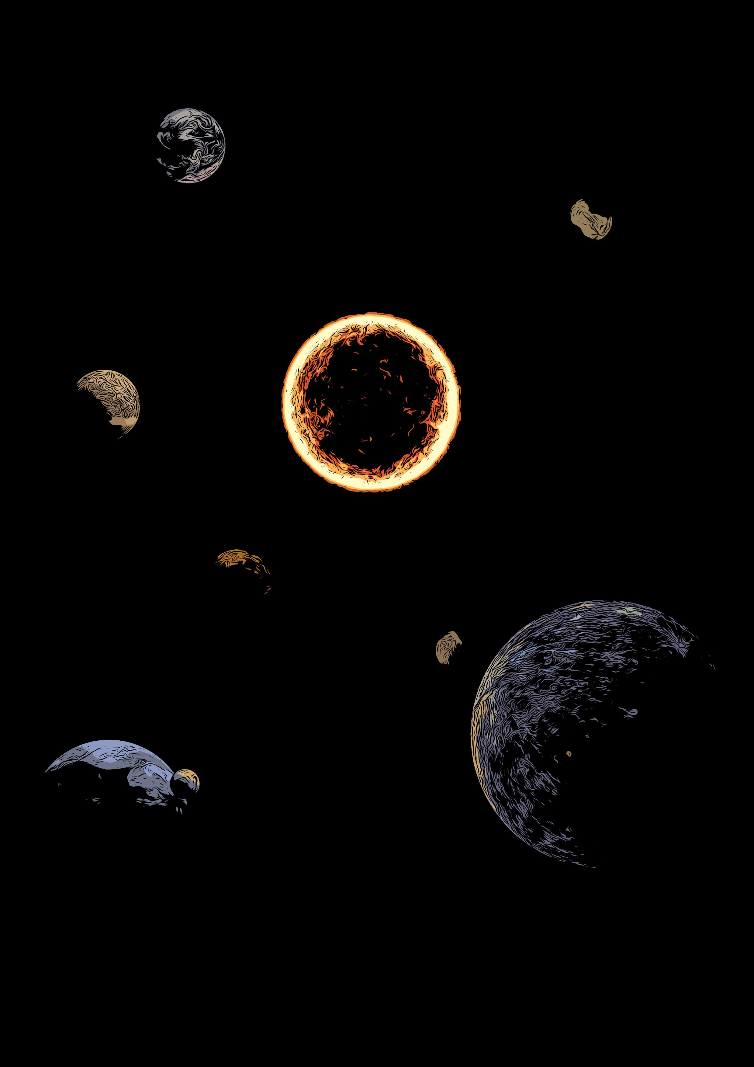 Sonnensystem Clipart Raumfahrt Sonne Geschenkidee Manner Premium T Shirt Spreadshirt Clipart Sonnensystem Geschenkideen