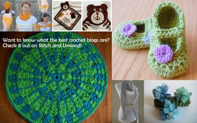 Find out what the best crochet blogs are get amazing crochet patterns, for free!