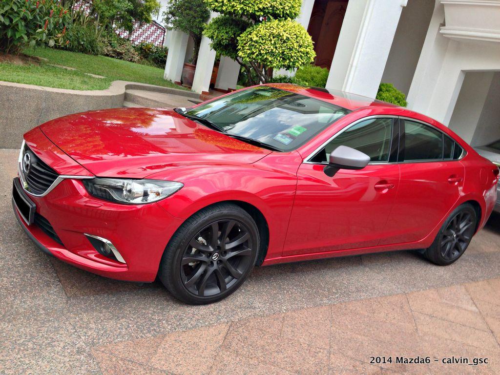 Mazda 6 Black Rims Mazda 6 Mazda Black Rims
