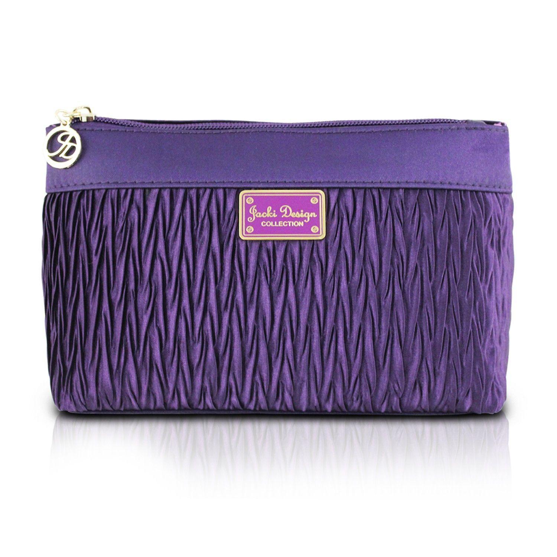 Vintage Allure Flat Cosmetic Bag