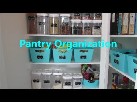 For our family, a pantry needs to f…