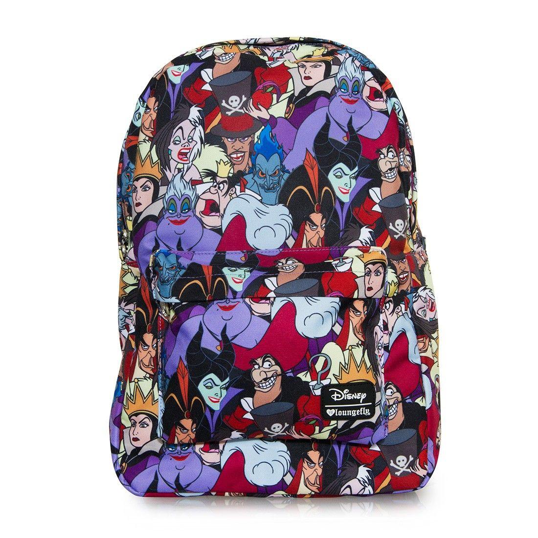 Loungefly x Disney Villains Character Print Backpack - Disney - Brands c93b23dea9ae6