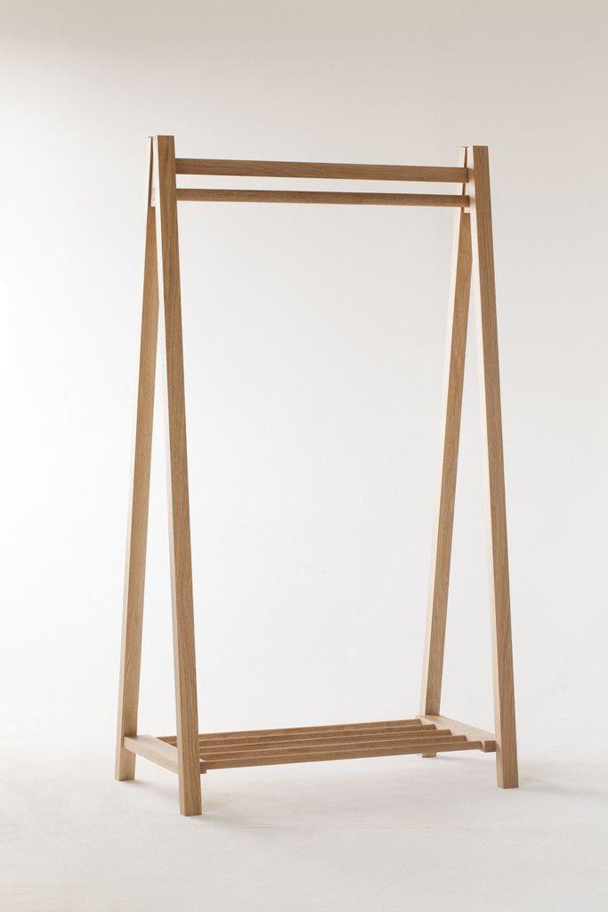 egon clothes rack coat rack stand wooden clothes rack. Black Bedroom Furniture Sets. Home Design Ideas