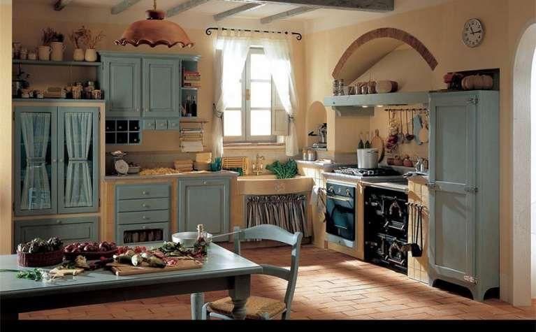 Stampe Per Cucina Country : Arredare la cucina in stile country chic cucina country chic