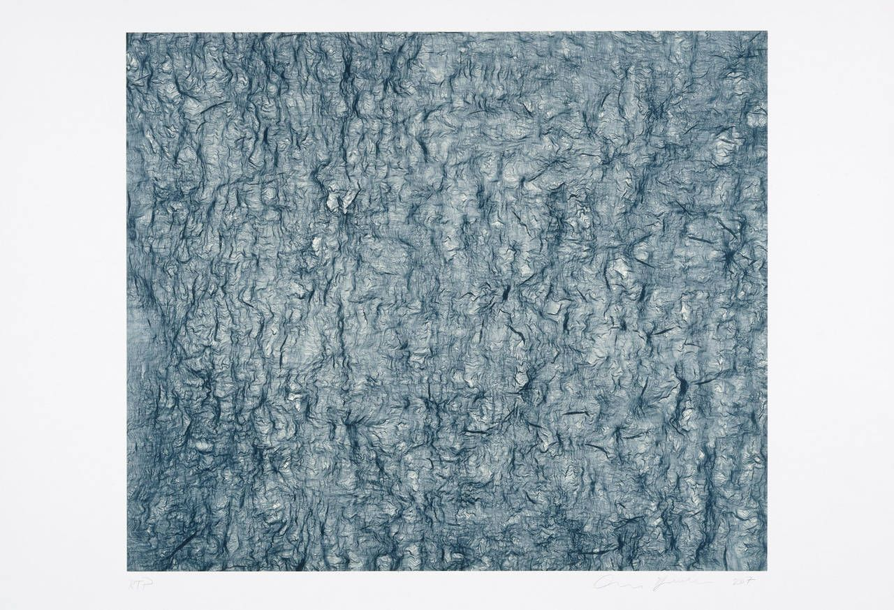 guage (blue) | From a unique collection of abstract prints at…