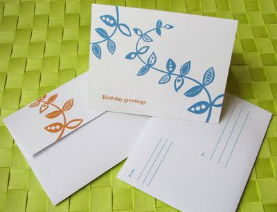 Free Printable B Day Card And Matching Envelope Paper Crafts