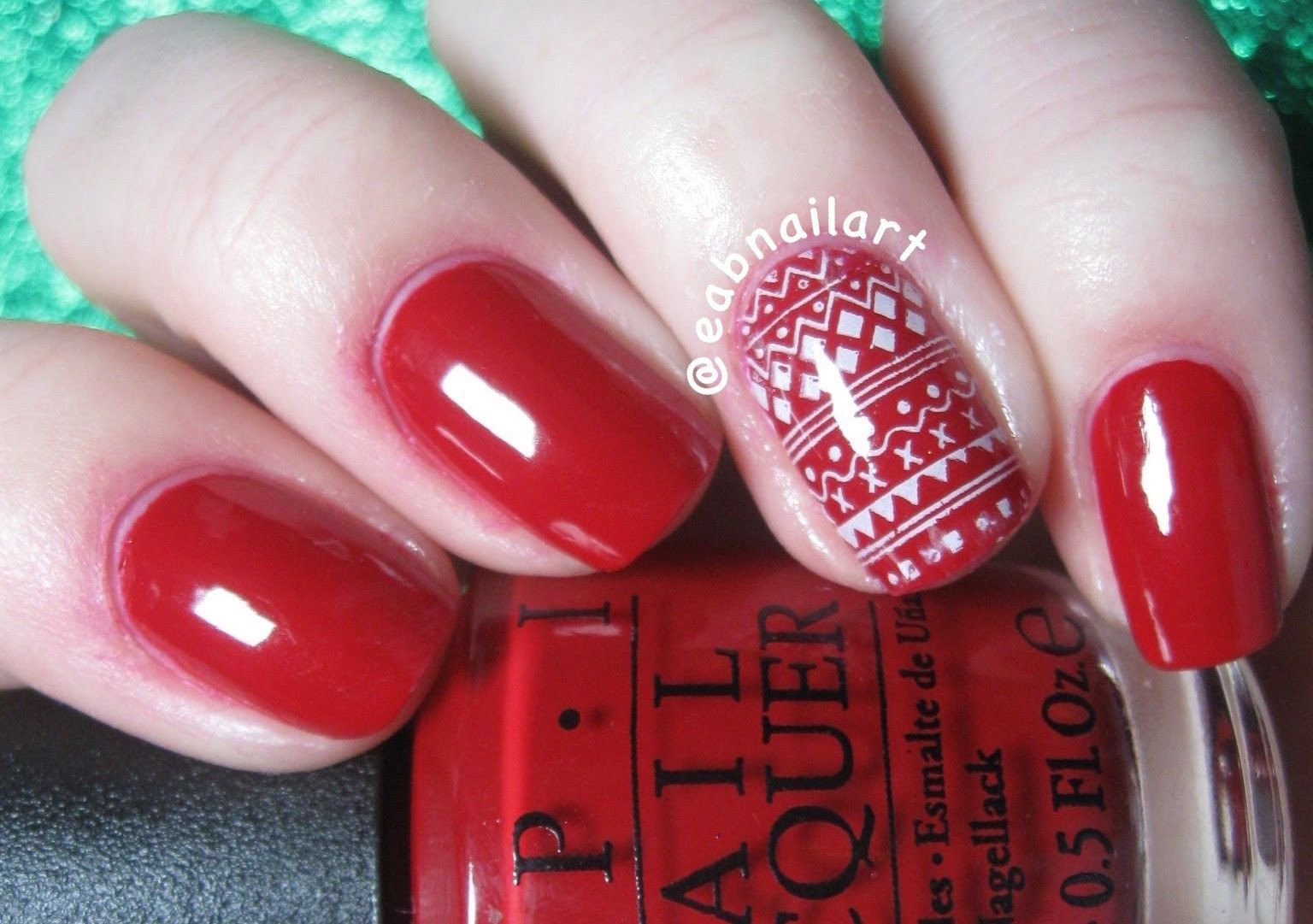 Holiday Sweater Nail Art Tutorial Nail Art Tutorial Video
