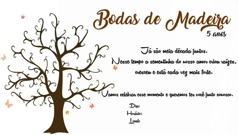 Dicas E Ideias Para Bodas De Madeira Com Imagens 5 Anos De