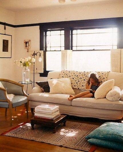 © Deborah Jaffe, Erica Tanov's living room, Berkely, California