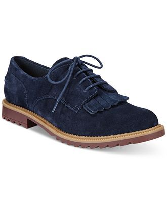 3c2e08c25a Clarks Somerset Women's Griffin Mabel Oxford Flats - Flats - Shoes - Macy's