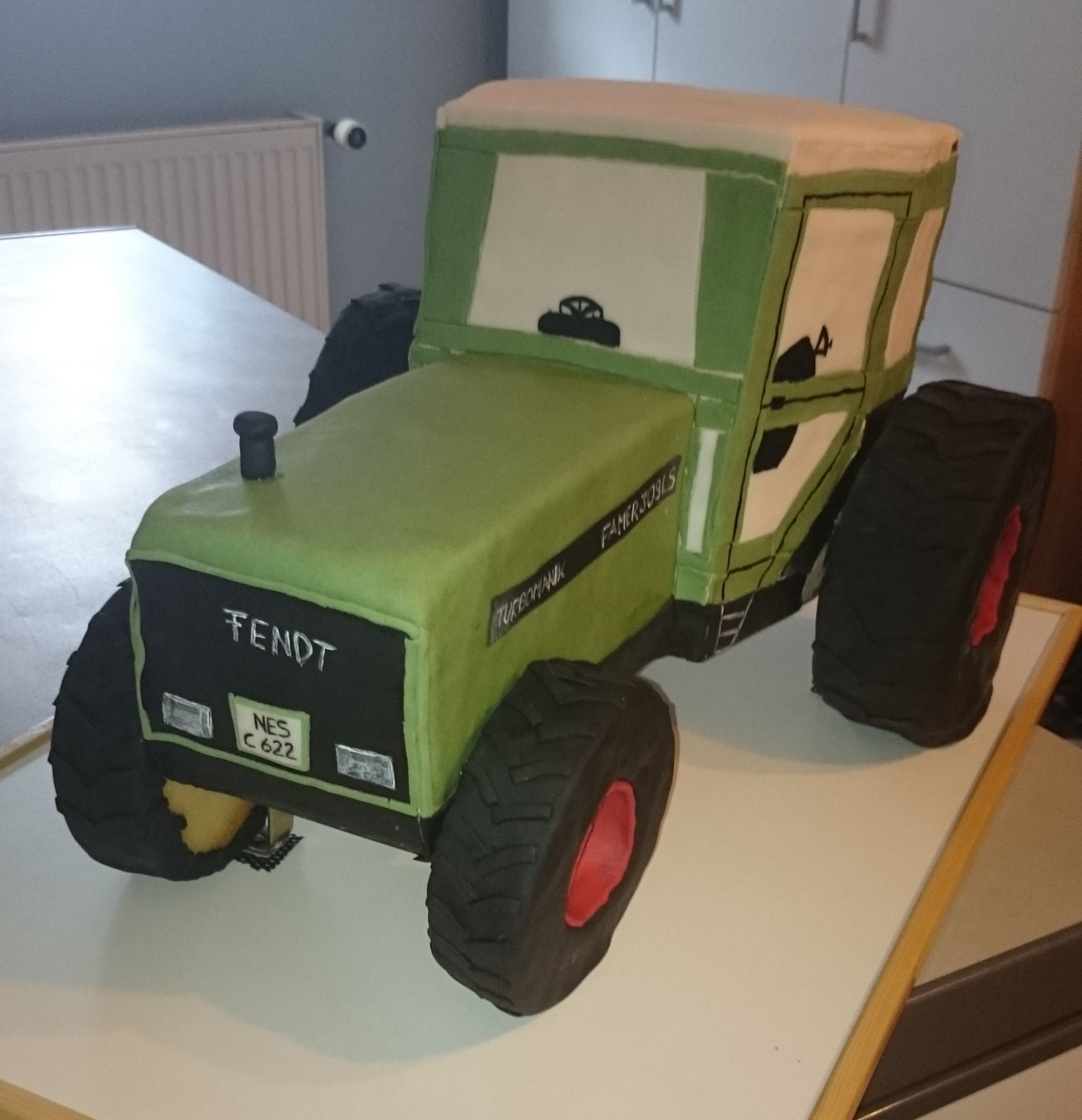 3d Traktor Torte Traktor Torte Traktor Traktor Geburtstagskuchen