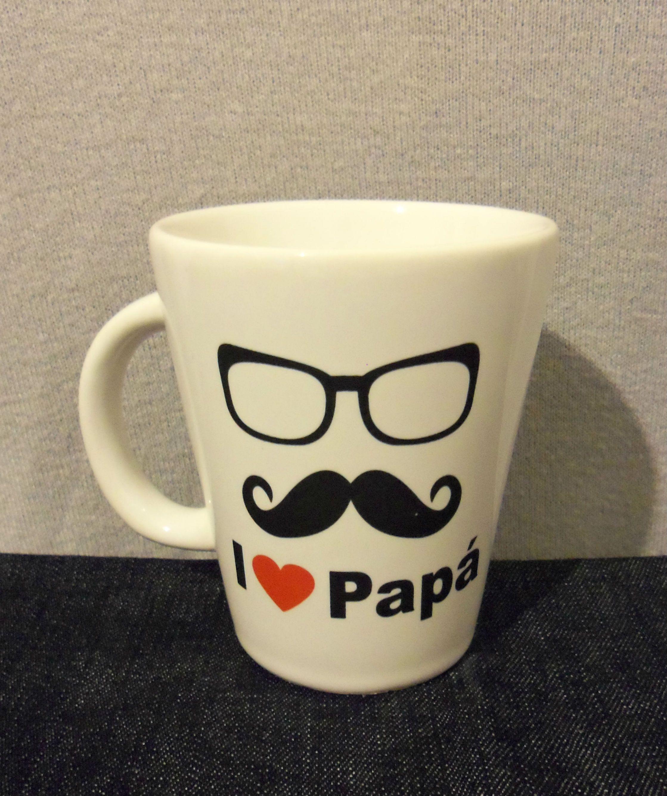 #Taza personalizada #Regalo para el #día del padre I love papá Personaliza la tuya en powerprint.es