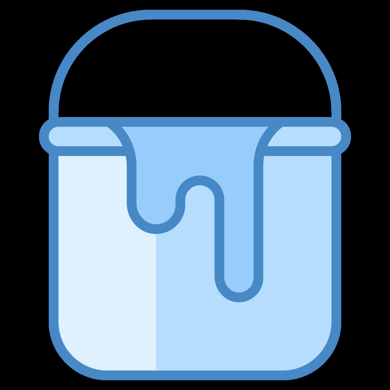 Paint Bucket Ultraviolet Icon Paint Buckets Icon Bucket