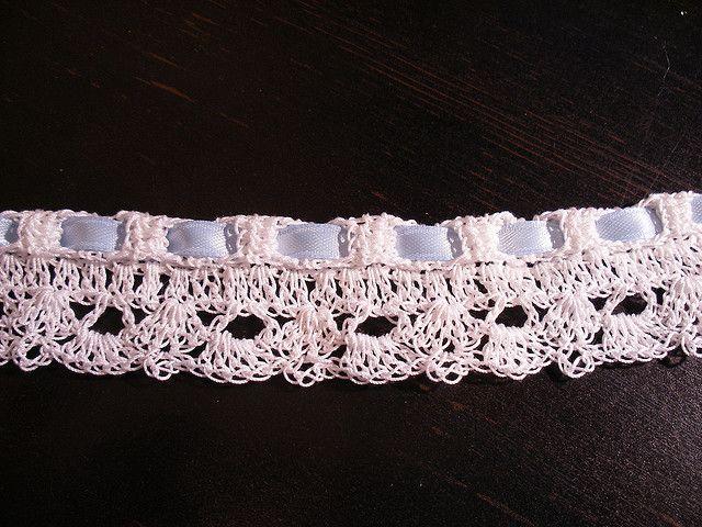 Crochet Lace Wedding Garter Pattern By Melisa Darnieder