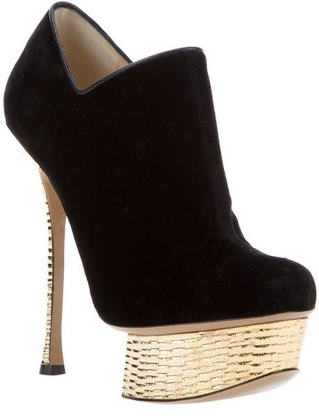 Nicholas Kirkwood Velvet Boots sqgM6vgNE