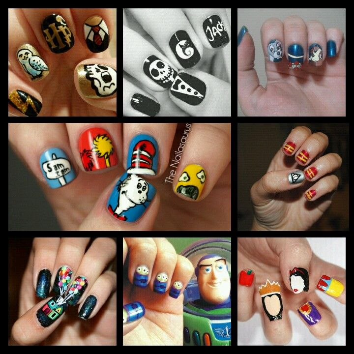 104 Best Movie themed nails images