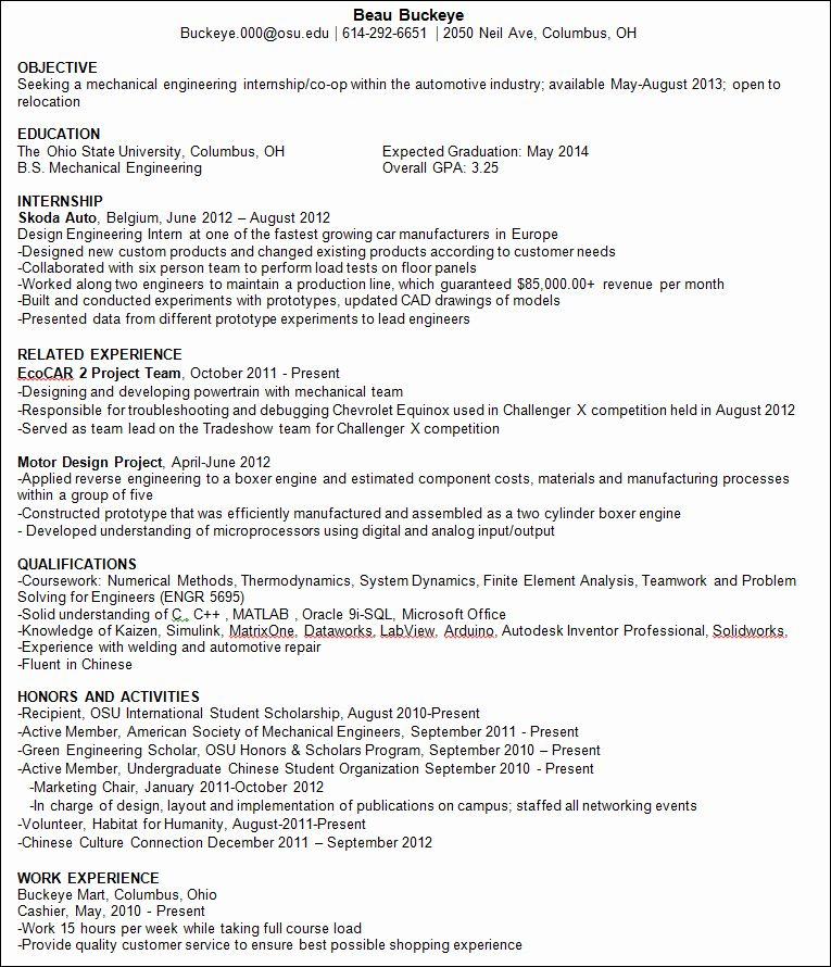 international student resume sample  best resume examples