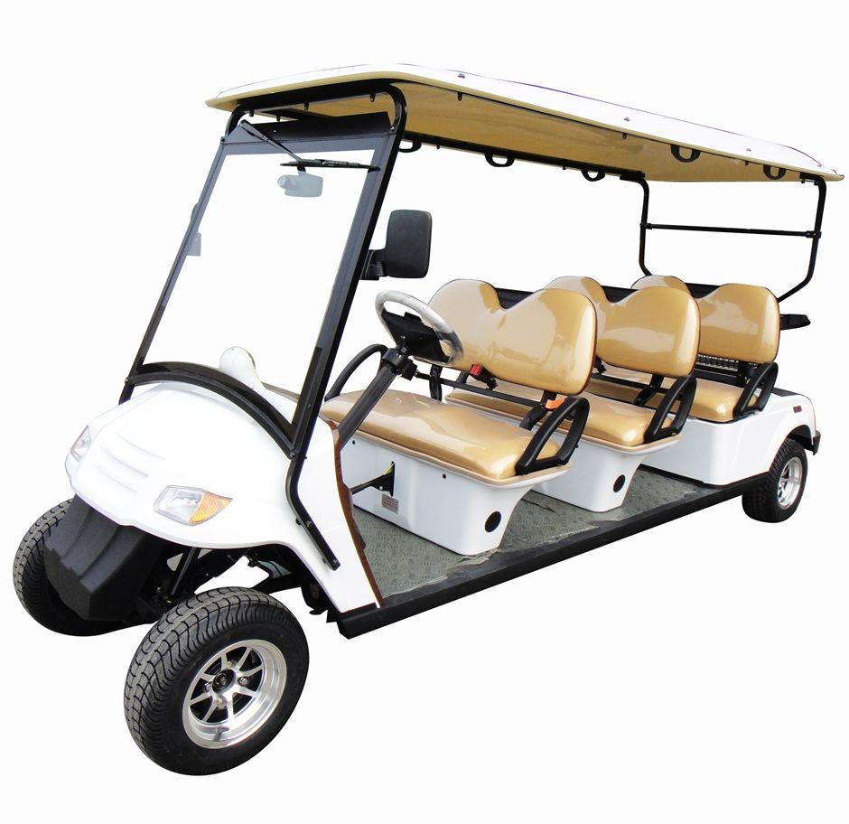 6 person citecar street legal golf cart 6pf street legal