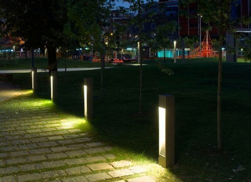 Bollard Lights Modern Landscape Lighting Landscape Lighting