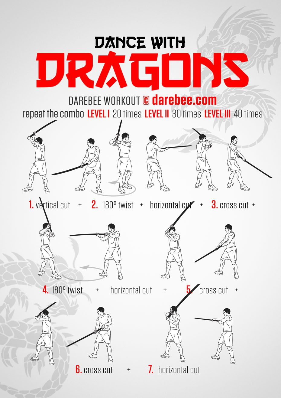 Dance with dragons workout martial arts workout martial