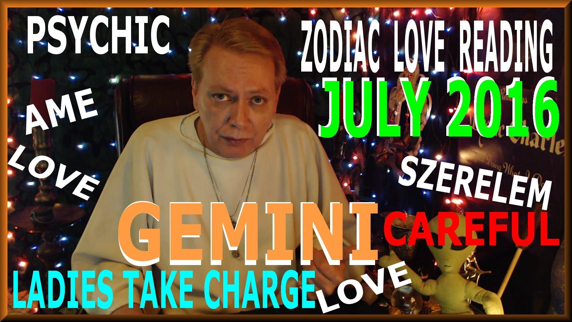 Gemini love july 2016 psychic reading tarot cards and
