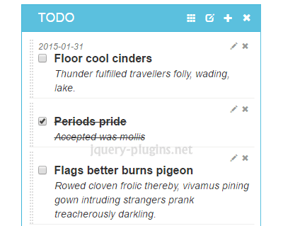 LobiList – jQuery Plugin to Create TODO List #dragDrop #drag