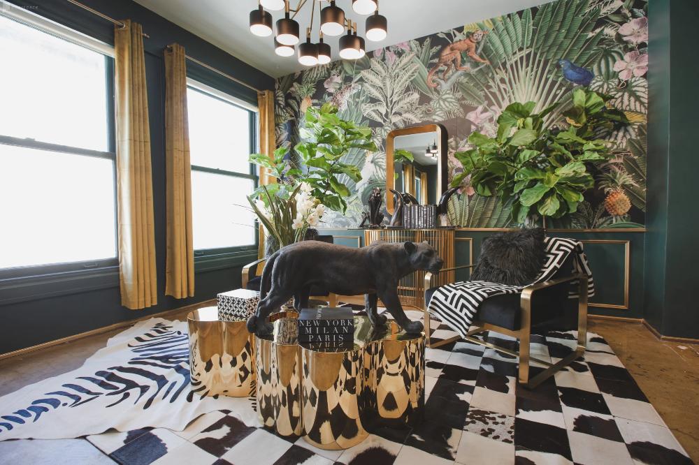 Downtown Sun Drenched Luxury Unique Jungle Studio With Piano In Los Angeles Boho Loft Downtown Unique Furniture