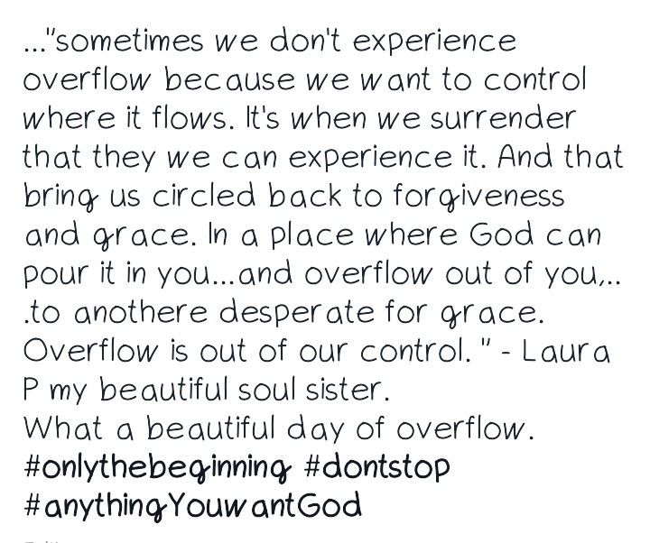 Overflow not Control