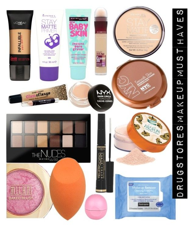 drugstores makeup must haves by naiomy melendez colon on polyvore featuring polyvore beauty maybelline coty rimmel loral paris nyx neutrogena and - Makeup Must Haves