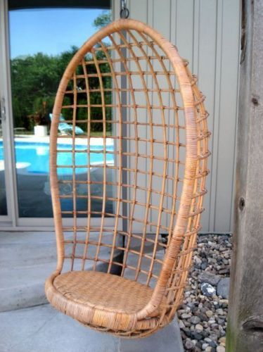 Rattan Egg Chair. Hanging ...