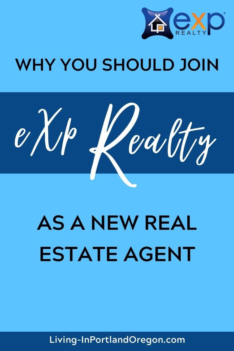 Why Join Exp Realty As A New Realtor In 2020 Estate Agent Real Estate Agent Real Estate