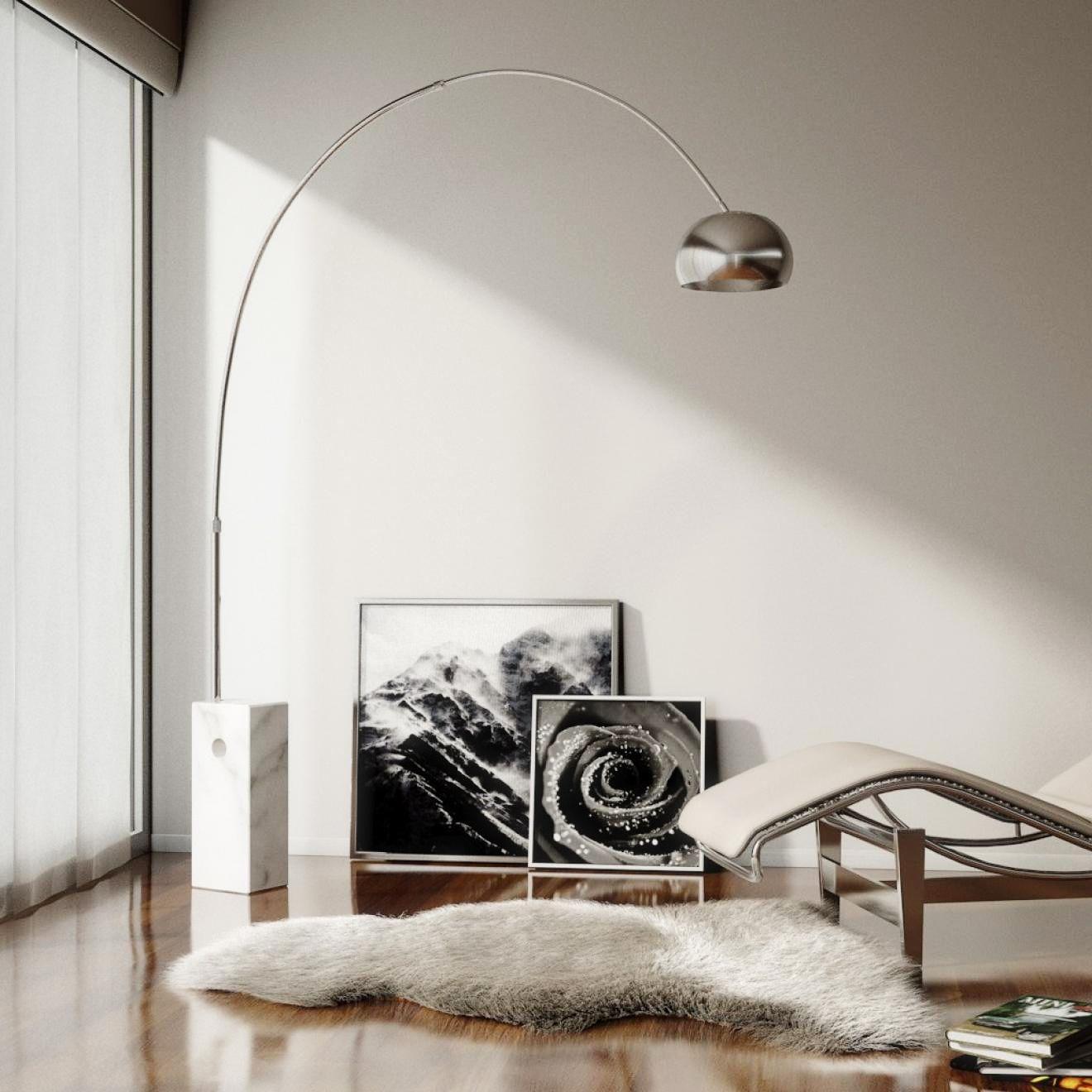 Flos Arco Floor Lamp Led In 2020 Arco Floor Lamp Arco Lamps Flos Arco Floor Lamp
