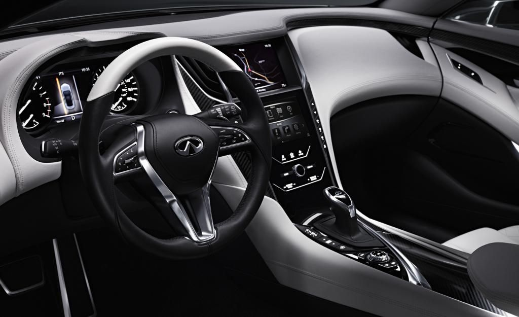New Infiniti Q60 Coupe Concept Detailed In 26 Fresh Photos Carscoops Infiniti Q50 Infiniti Infiniti Q50 Interior