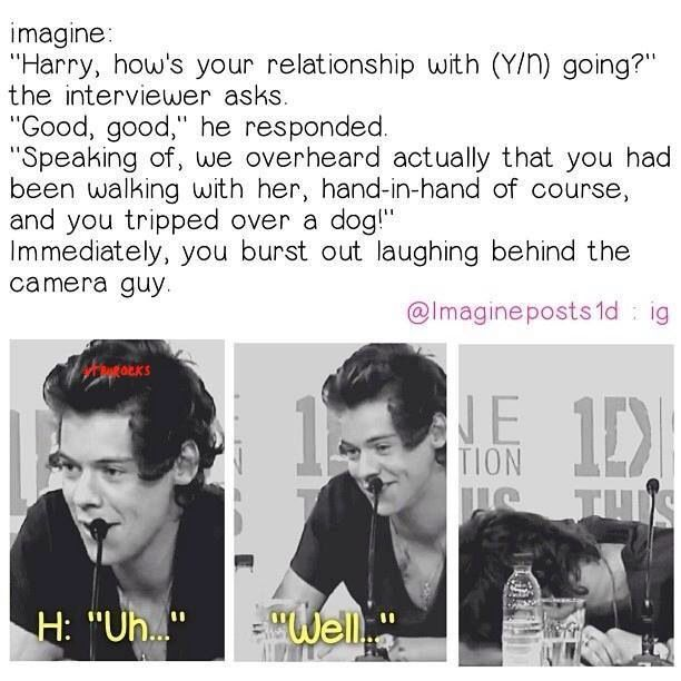Harry imagine<< am I the only one who can acctually picture Harry