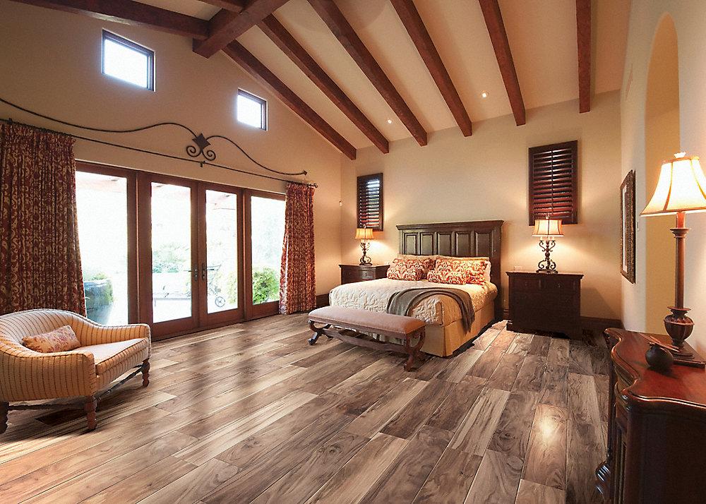 Avella Ultra 47 x 7 Elegant Wood Acacia Porcelain Tile
