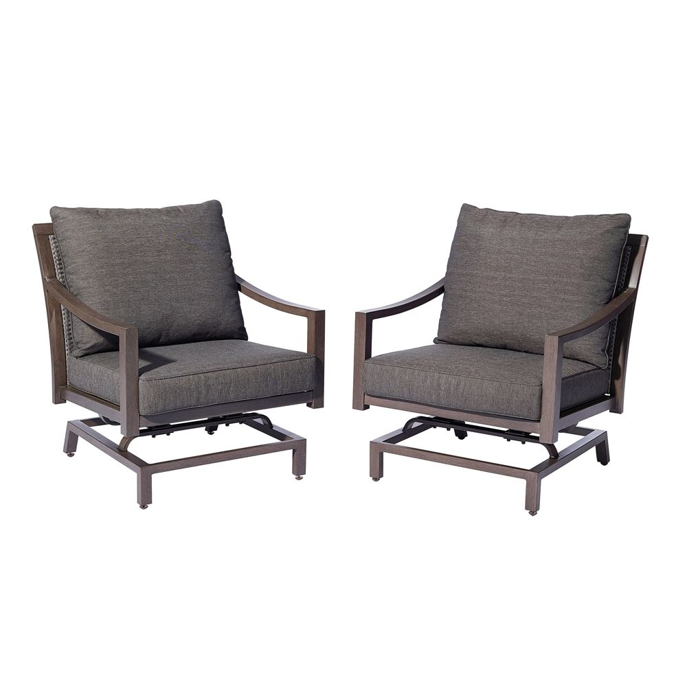 Lowes Outdoor Rocking Chair Allen Roth Ferguson Rocker Chair Set Of 2 Lowe S Canada Back