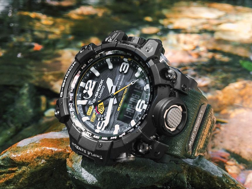 0467a731fc7 Casio G-Shock GWG 1000-1A3 Mudmaster Watch Review Wrist Time Reviews ...