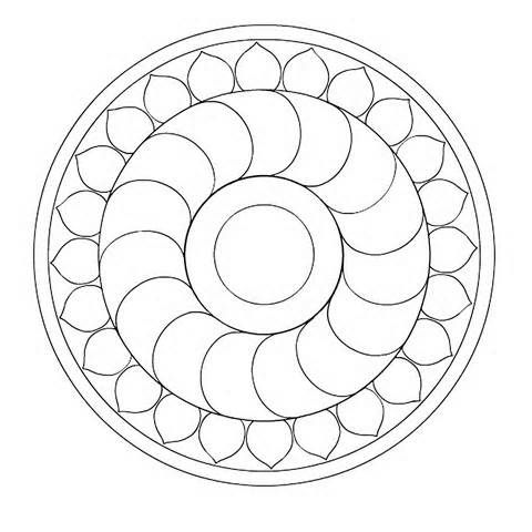 easy mandala patterns - Yahoo Image Search Results | ~ Doodles ...