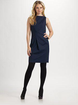 BOSS Black - Double Stretch Sheath Dress - Saks.com